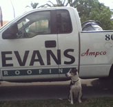 Evans Roof Spot Old Bill
