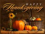Evans Happy thanksgiving