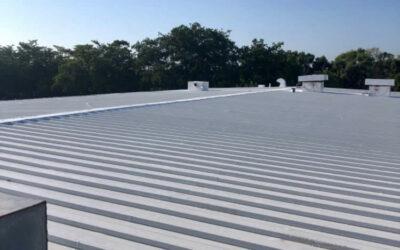 Waterproofing Repair on a Metal Roof