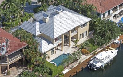 Waterfront Aluminum Standing Seam Roof
