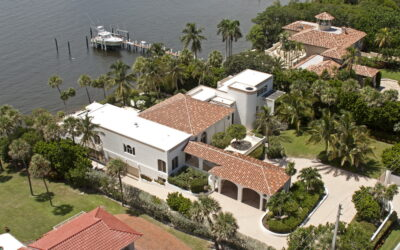 Ocean Front House-Tile and Flat Roof