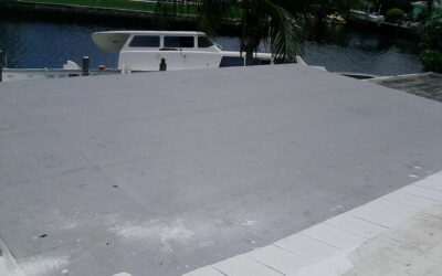 Re-roofing of a Flat Roof in Pompano Beach